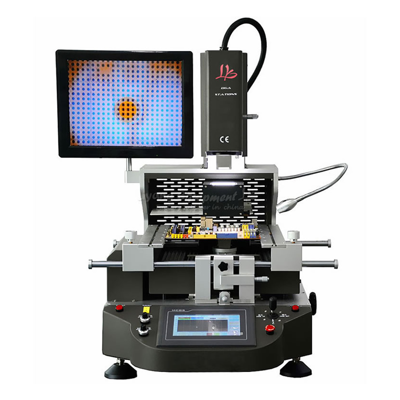 LY G700 Hot Air BGA Rework Solder Station Mobile Phone Chip Reballing Repairing Machine цена
