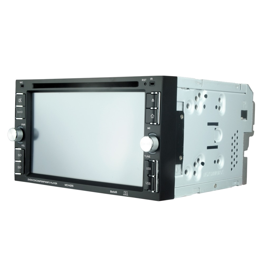 """Image 5 - 6205  Car DVD player 6.2"""" Car Autoradio Video/Multimedia MP5 Player mp4 Car Stereo audio player car dvd BT FM-in Car CD Player from Automobiles & Motorcycles"""