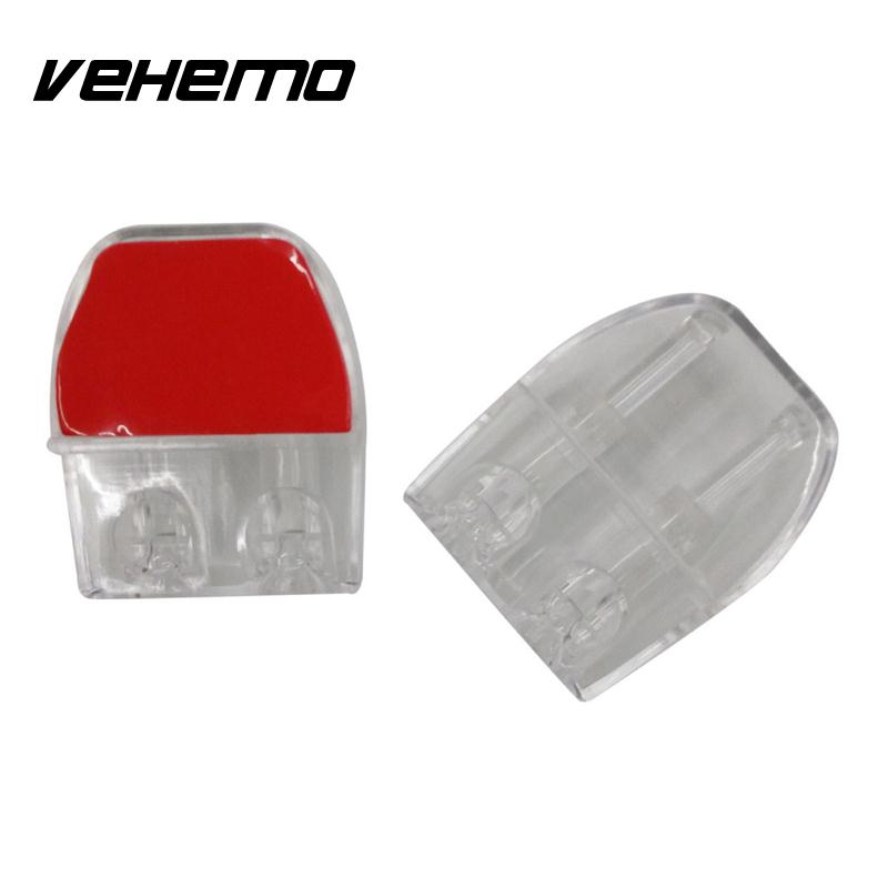 Vehemo 2pcs Cars Alertor Animals Expel Sonic Gadgets Universal Roadkill Auto Parts Alarm Whistle Front Wind Car Accessories