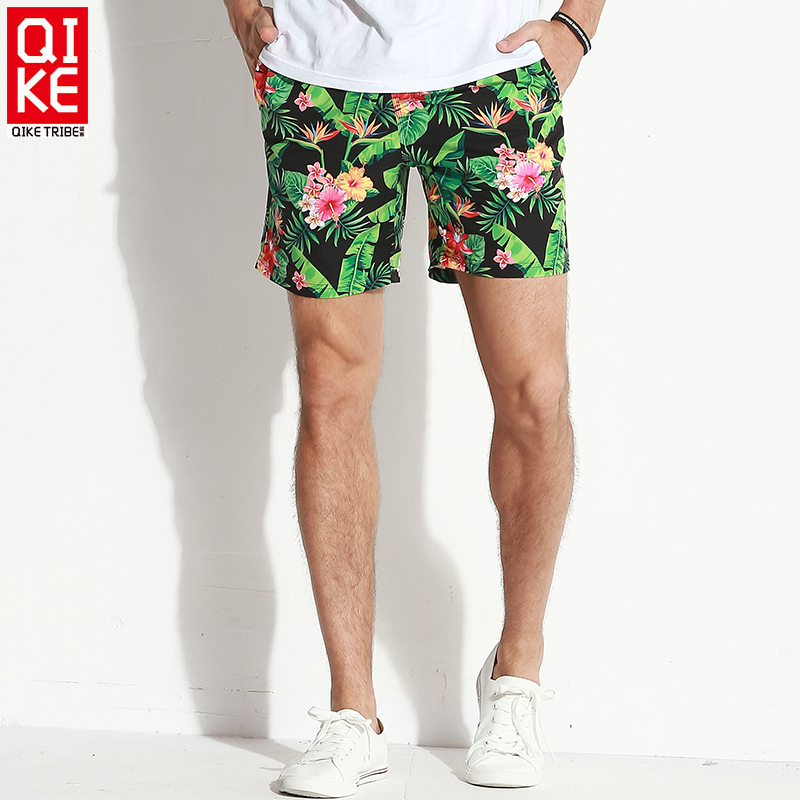 2019   board     shorts   Men's flower bathing suit sexy swimming trunks loose liner beach   shorts   surf joggers swimsuit plavky mesh