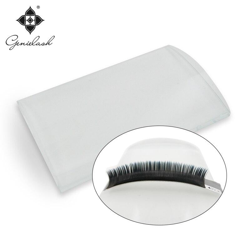 Genie U shape platform for volume eyelash extension lash holder and glue holder makeup tools curved pallet for eyelash extension все цены