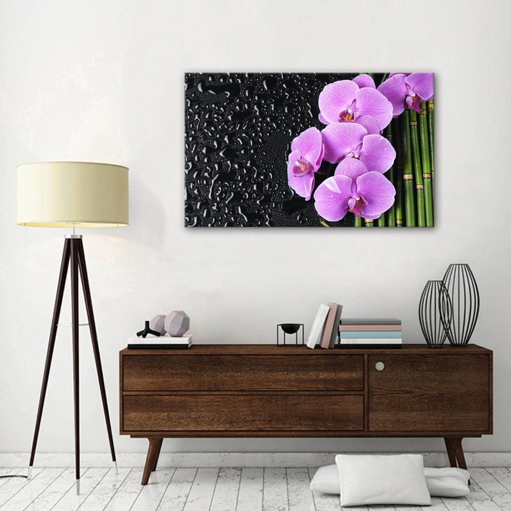Flower Artistic Painting Modern Inner Decoration One Panel Photo ...