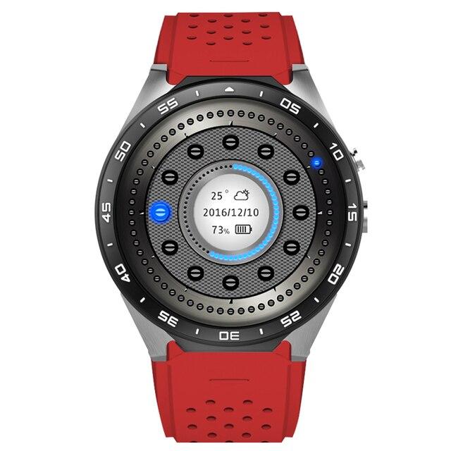 2016 Лучший 3 Г Wi-Fi Smart Watch Android 5.1 Smartwatch С MTK6580 512 МБ/4 ГБ Часы 400*400 нано SIM WCDMA Сердечного ритма 2.0MP GPS