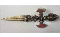 Metal Artesanato Buddhisit/taoísta Arma No19 Cobre Antigo Exquisite Chinesa Antiga Transporte rápido Estátuas e esculturas    -