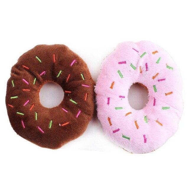 Squeaking Doughnut Toy