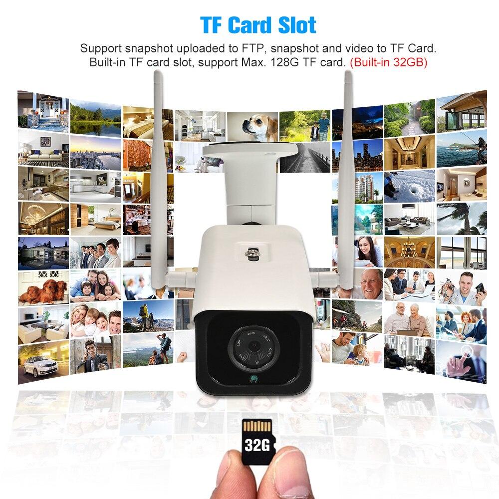 IP Camera 4G Wireless wifi Camera IR CUT Night Vision 3G GSM Outdoor Waterproof CCTV Camera