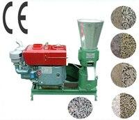 Manual KL200A 15HP Diesel Engine Pellet Mill Feed / Wood Pellet Mill Machine Pelleting Machine