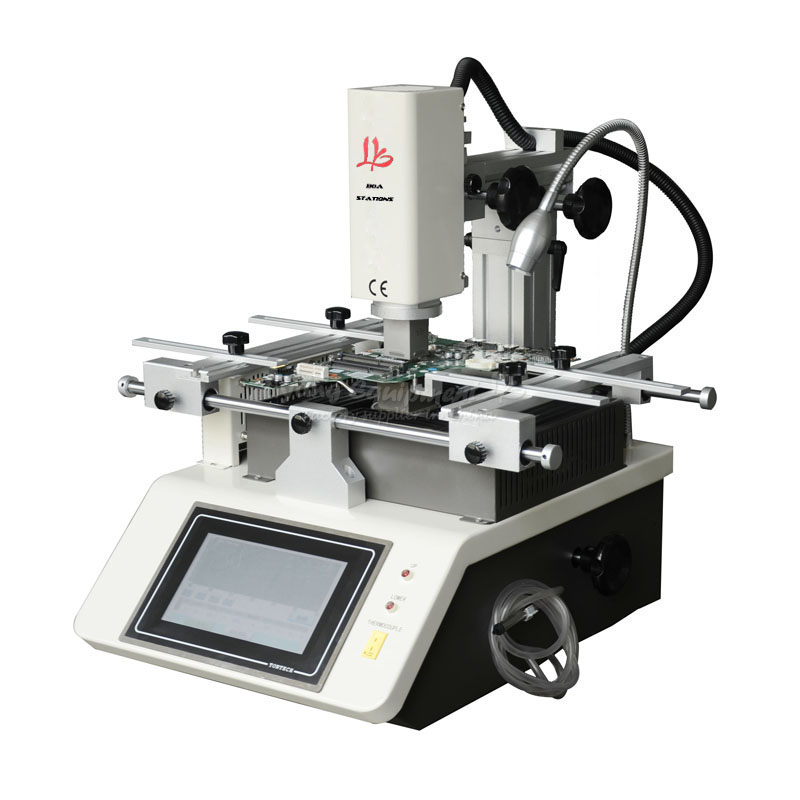 hot air mobile solder station repair system LY 5200 touch screen 3 zones with balls in Soldering Stations from Tools