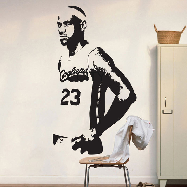Basketball Cavs Lebron James Poster Graphic Wall Vinyl Sticker Decal