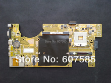 For ASUS G73JH Laptop Motherboard Mainboard 2 Memory Slots Intel cpu 35 Days Warranty free shipping