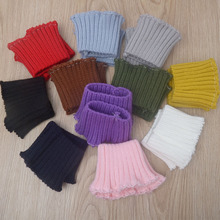 9a3ccb74dbf 2 Pair Lot Cuffs Pure Color Knit Rib Cuff Trim Clothing Jacket Coat Stretch  Soft