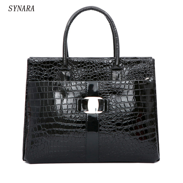NEW Fashion PU leather Retro Pack Handbags Women Alligator Clutch Bag Messenger Shoulder Bags Women Bag Promotion