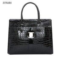 NEW Fashion PU Leather Retro Pack Handbags Women Alligator Clutch Bag Messenger Shoulder Bags Women PU