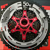 Sunrace MX80 50t MTB Cassette 11 50T 11 Speed Super Wide Ratio Range Flywheel Black Red