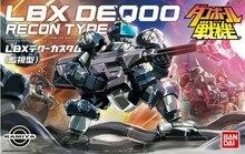 Bandai Danball Senki Plastic Model WARS LBX 008 DEQ00 RECON TYPE Scale Model wholesale Model Building Kits freeshipping lbx toys