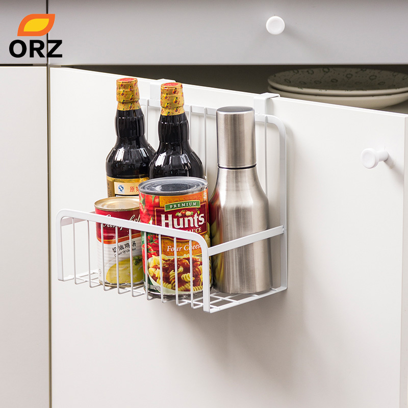 Orz Kitchen Storage Organizer Over The Cabinet Door Storage Basket
