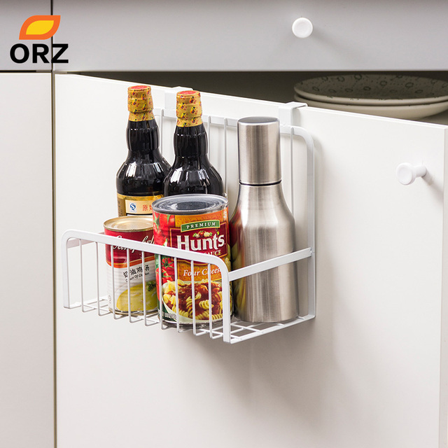 Orz Kitchen Storage Organizer Over The Cabinet Door Storage Basket
