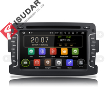 Isudar 2 Din Auto Radio Android 9 Per Dacia/Sandero/Duster/Renault/Captur/Lada/ xray 2/Logan2 Car Multimedia Video Player GPS DVR