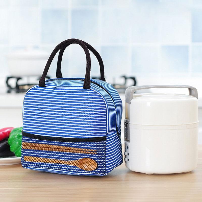 Insulated Lunch Bag Reusable Thermal Lunch Tote Box Cooler Bag for Kids Women Men Food Bag Torba Termiczna Bolsa Termica Comida