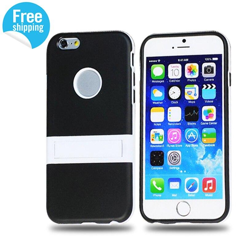 delgado tpu pata de cabra case para apple iphone 6 4.7 accesorios del teléfono