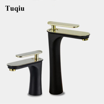 Basin Faucets Elegant Bathroom Faucet Hot and Cold Water Basin Mixer Tap Chrome Finish Brass Toilet Sink Water Crane Gold
