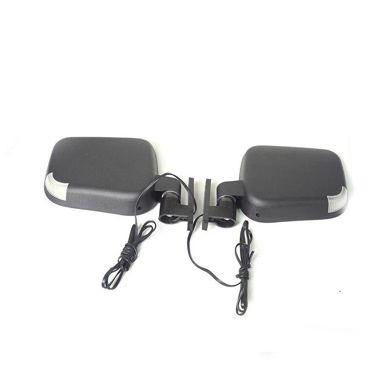 10L0L.EZGO Club Car Gas & Electric Golf Carts Side Rear View Mirror on