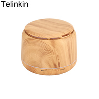 250ml Mini Aroma Wood Grain Aromatherapy Safety Air Electric Humidifier For Home Ultrasonic Essential Oil Diffuser