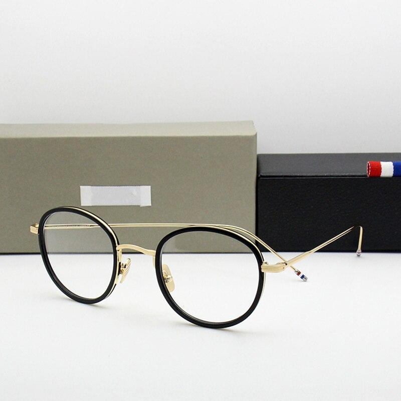 Alta calidad marcos de anteojos TB905 hombres y mujeres vintage ...