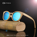 EZREAL Bamboo Polarized Sunglasses Women Wooden Sun glasses Women Brand Designer Original Wood Glasses Oculos de sol masculino