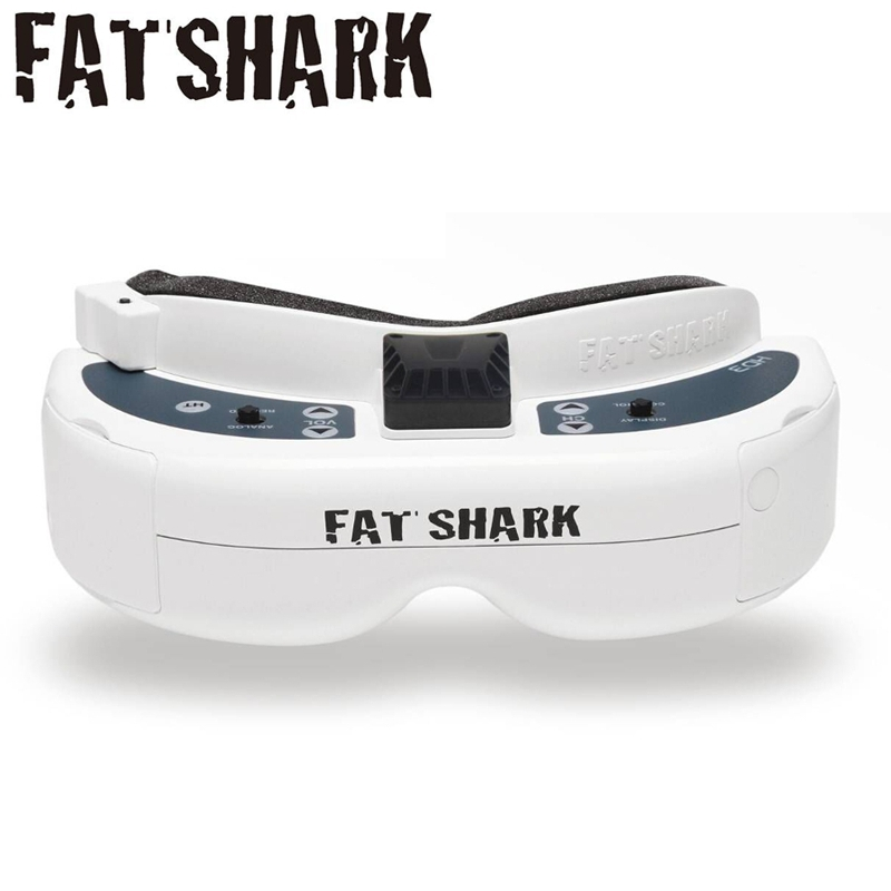 Original Fatshark FSV1076 Fat Shark Dominator HD3 HD V3 4:3 Video Glasses Headset  DVR Goggles For RC Models Quadcopter