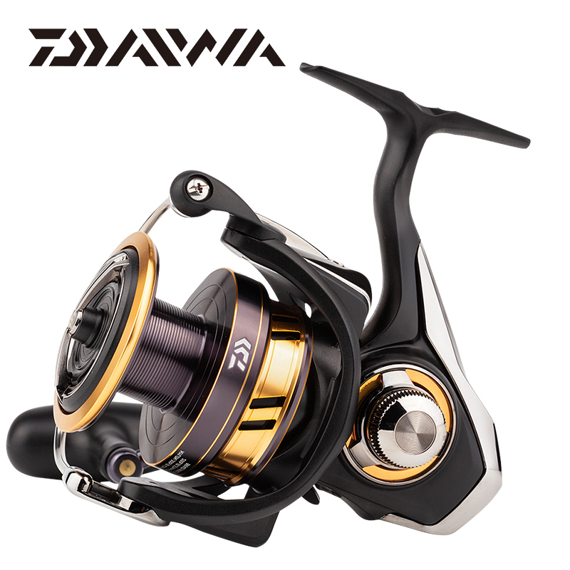 18 Original DAIWA LEGALIS LT 1000D 2000D 2500 3000C Spinning Fishing Reel Low Gear Ratio 5.2/5.3:1 5BB LC-ABS Metail Spool Reel