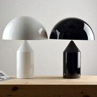 A1 Современные Простые Италия дизайн настольные лампы Oluce гриб моделирования металла настольная лампа прикроватная Гостиная Офис настольна