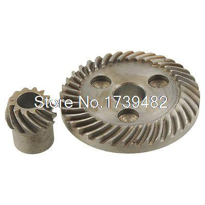 2 Pcs Spiral Bevel Gear for Black Decker 6288 Angle Grinder