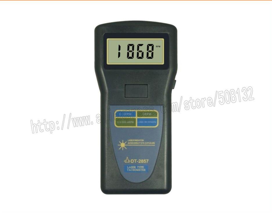 Landtek DT 2857 Digital Industrial Tachometer DT2857 2 5 99 999 rpm
