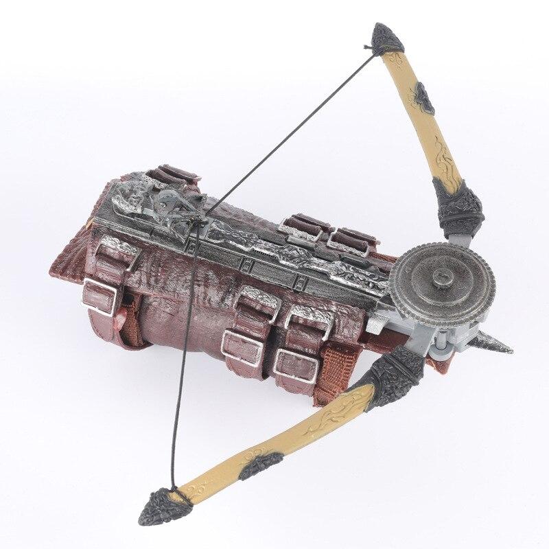 2019 pour AC 5 L'unité Cosplay Armes Arno Gant Avec Lame Cachée Avec Boiteux Sécrètent Action Figure Modèle Jouet Avec boîte