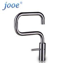 Jooe смеситель для кухни из нержавеющей стали 360 градусов вращения раковина кран горячей и холодной смесителя водопроводный кран на бортике кухонный кран