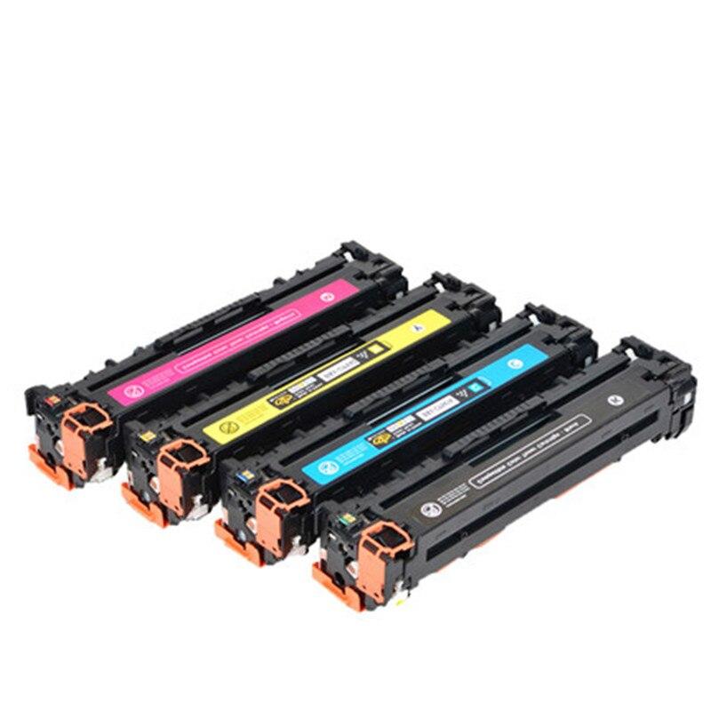 1 pcs CF210A CF211A CF212A CF213A 131A Compatible Toner Cartridge For HP LaserJet Pro 200 COLOR