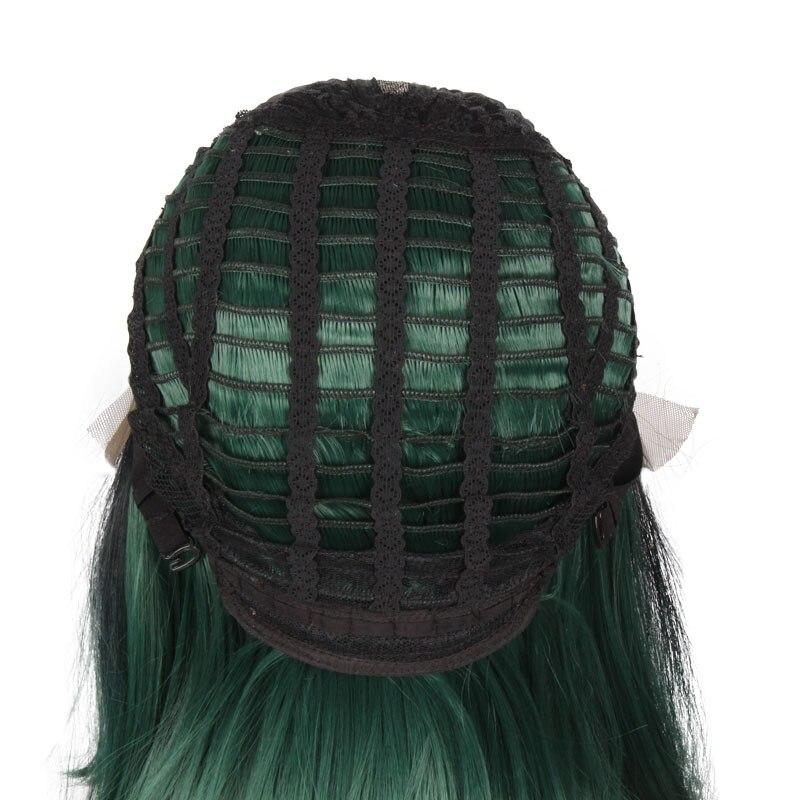 BCHR Syntetisk Hög Temperatur Fiber Snörning Fram Paryk 12inch - Syntetiskt hår - Foto 6