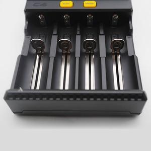 Image 5 - 卸売液晶スマートバッテリー充電器miboxer C4 リチウムイオンimr icr LiFePO4 18650 14500 26650 21700 aaa電池 100 800mah 1.5A