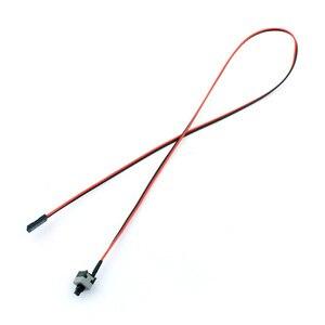 Image 5 - 10 stücke ATX PC Computer Motherboard Power Kabel Schalter Auf/Off/Reset Taste Computer Ersatz F19886