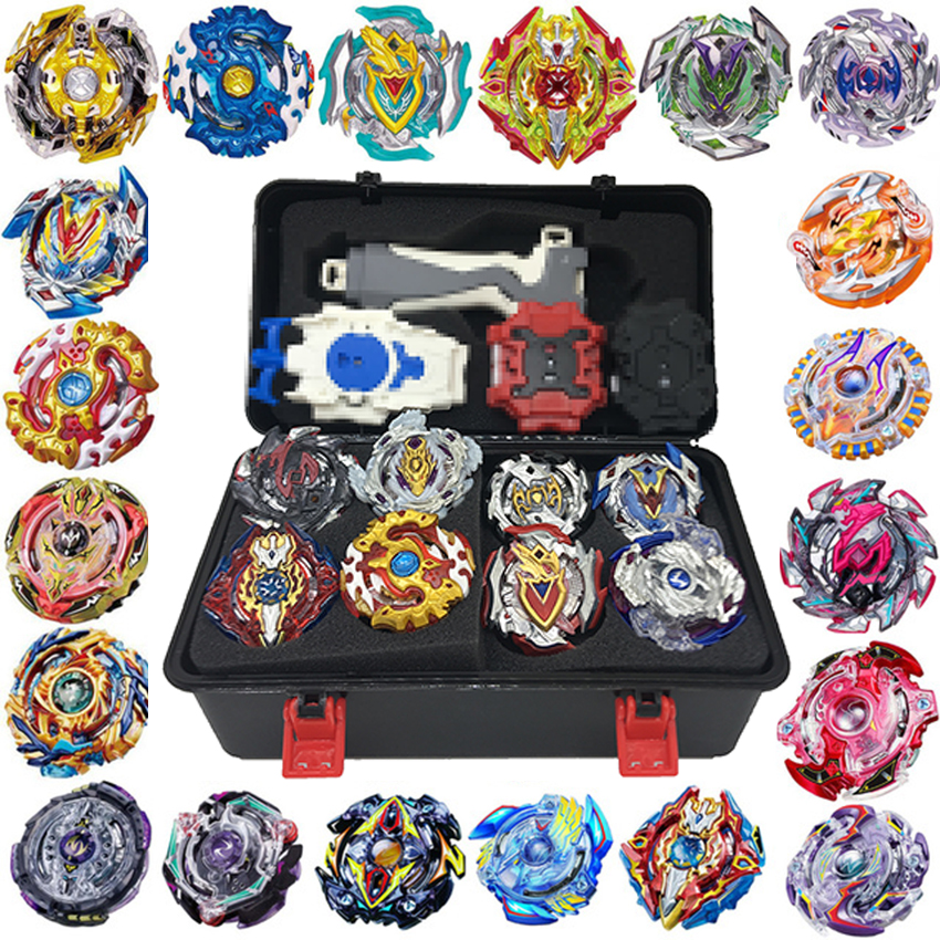 luminous beyblade burst beyblade toys glowing in the dark metal spinning top bayblade gyro launcher kids toys for children sales Beyblade Burst Set Toys Beyblades Arena Bayblade Metal Fusion Fighting Gyro 4D With Launcher Spinning Top Bey Blade Blades Toys