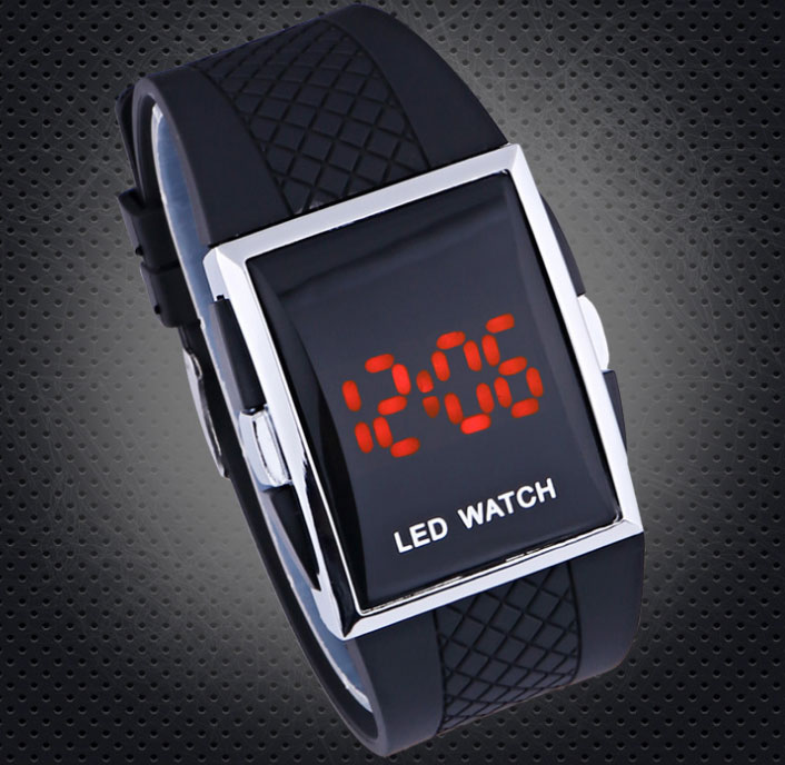 Square Digital Watches Men s led watch Male Military Wristwatches sports watches