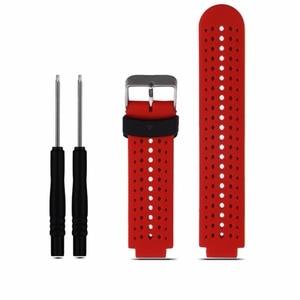 Image 5 - 8 Kleuren Siliconen Vervanging Watch Band Voor Garmin Forerunner 230 / 235 / 220 / 620 / 630 / 735 horloge Outdoor Sport Horlogebandje