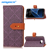 Mural Flip PU Wallet Leather TPU Luxury Cover Case For Samsung Galaxy A3 A5 A7 2017