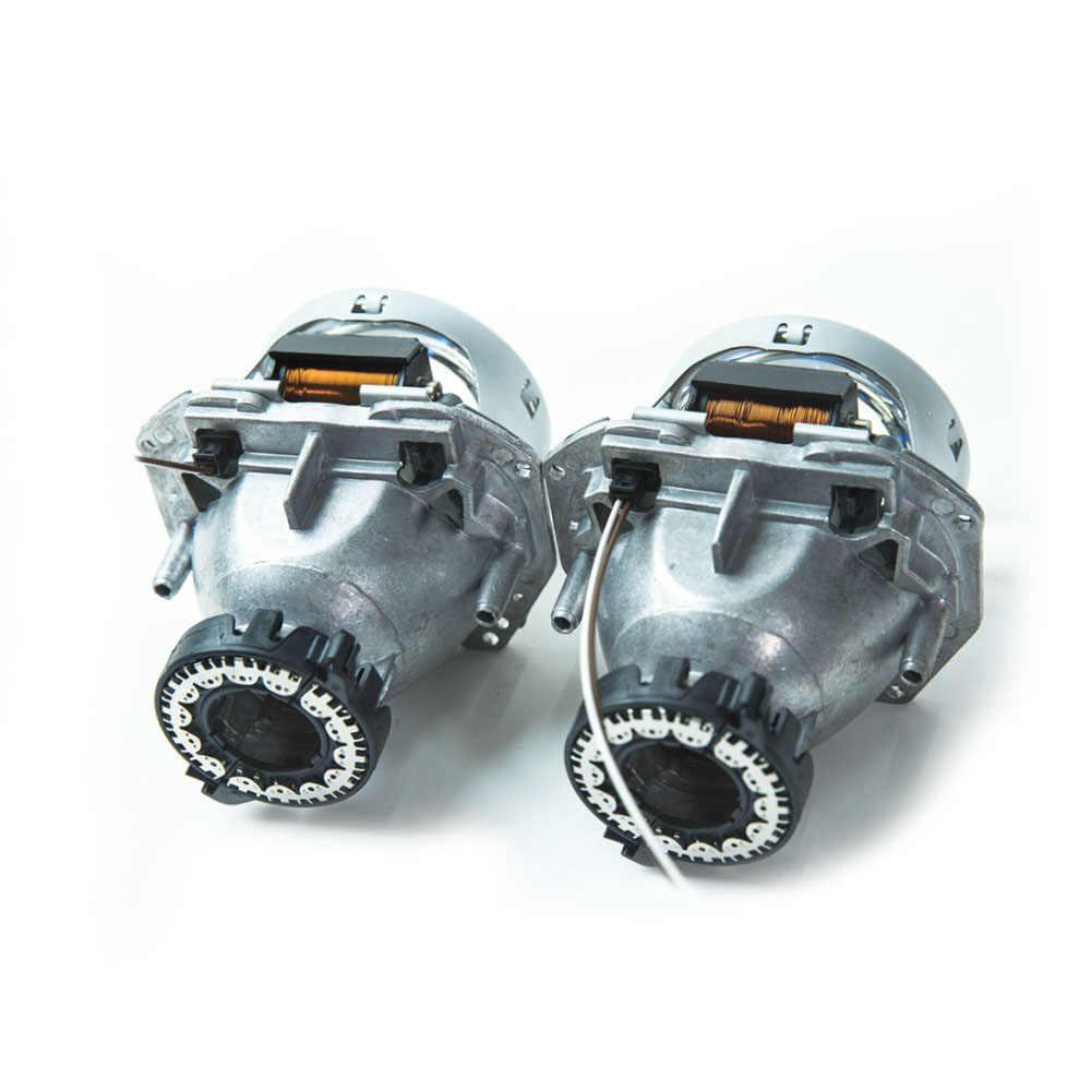 2 шт. 3,0 дюймов hella 5 автомобиля Bi xenon hid объектив проектора металлический держатель D1S D2S D3S D4S hid xenon комплект светодиодные лампы фар автомобиля в сборе