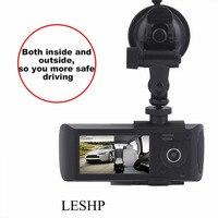 Leshpプロフェッショナルフルhd 1080 p 2.7インチ車のビデオレコーダー液晶ディスプレイ