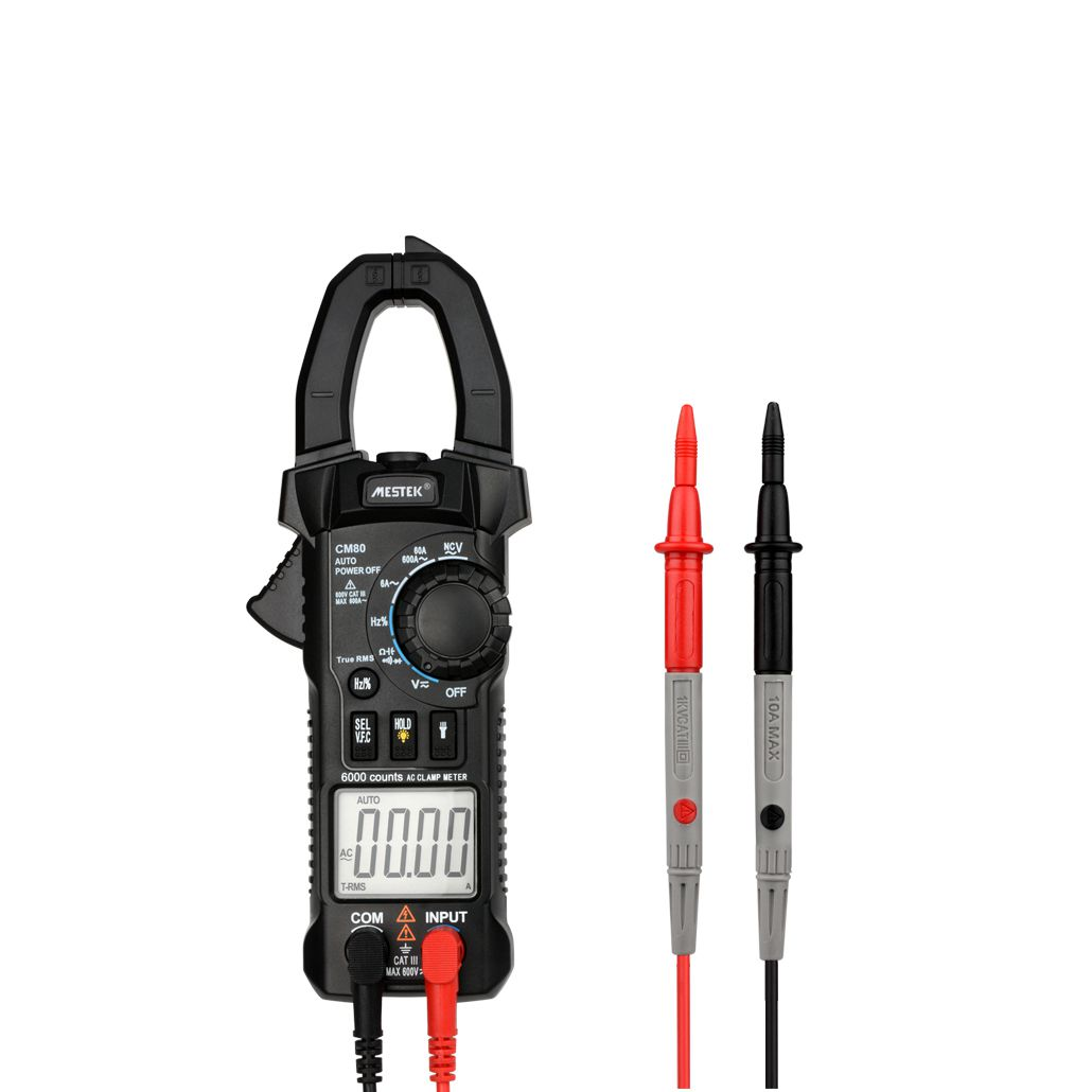MESTEK CM80 Digital Clamp Meter Multimeter Current Clamp Pincers AC/DC Voltage Resistance Tester Measuring Tools Diagnostic-To hp 870m capacity measuring instruments with dc ac voltage current resistance back light