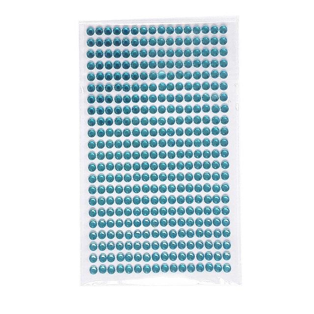 ae11df9f5a US $0.72 45% OFF|5mm Acrylic crystal Strip Stickers blue Rhinestone Self  Adhesive Children toys Diy Glass Frame Screen decoration Flat sticker-in ...