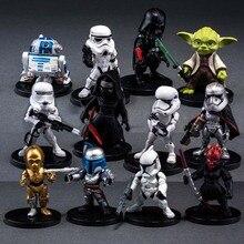 Star Wars Black Knight white Cavalry Yoda font b Toy b font 8cm Model font b