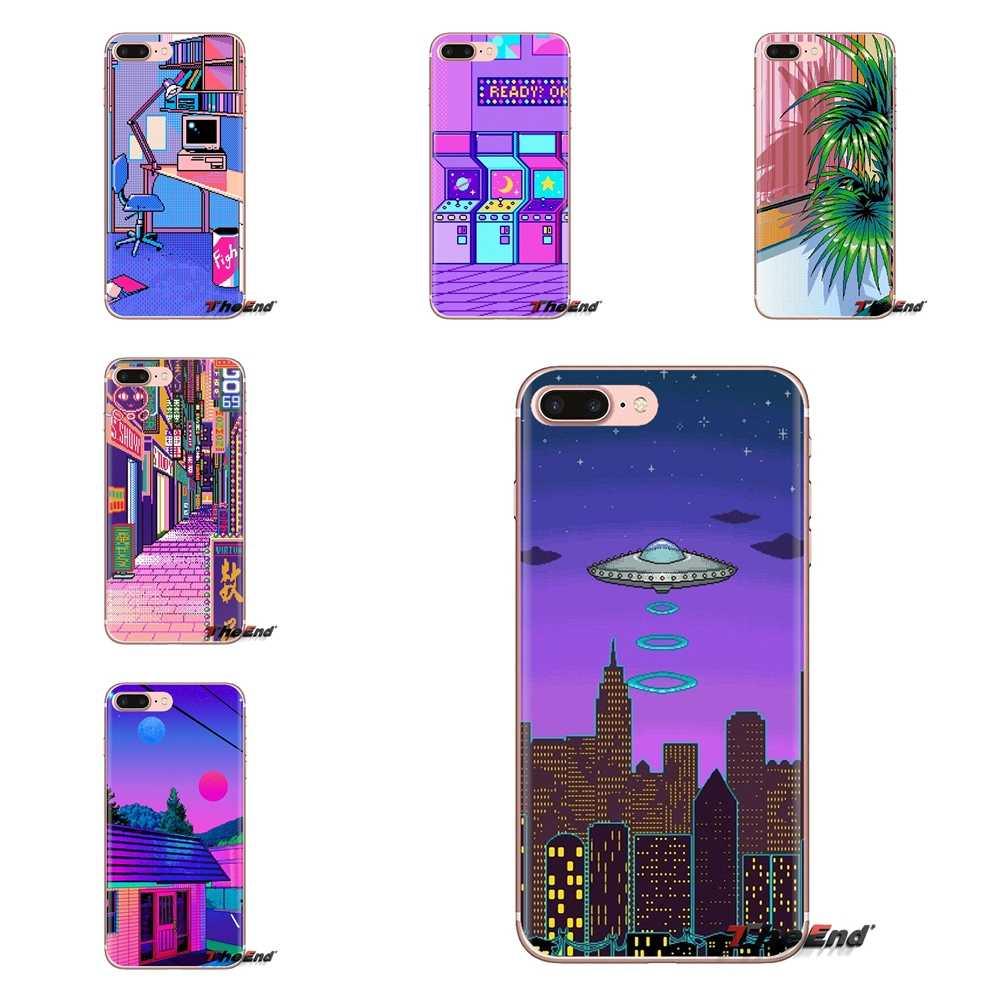 ART PIXEL INDIE GEEK For Sony Xperia Z Z1 Z2 Z3 Z5 compact M2 M4 M5 C4 E3 T3 XA Huawei Mate 7 8 Y3II Transparent TPU Shell Cases
